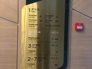 Указатели, система навигации в здании из металла премиум